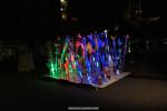 Lichtkunst van afval