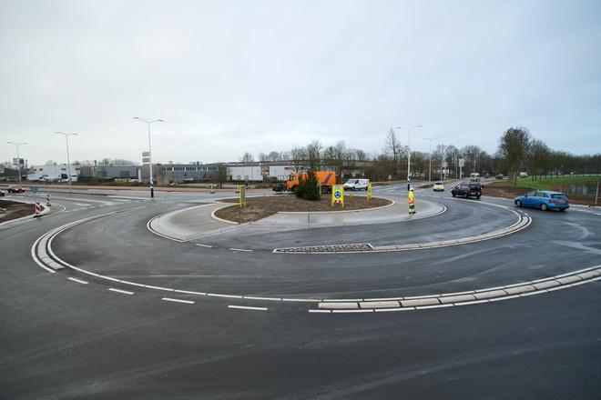 Wulverhorstbaan rotonde open!